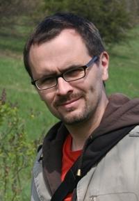 Tomáš Daněk v botanické zahradě