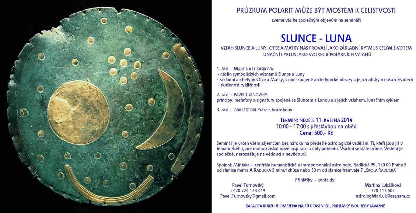 seminář Slunce a Luna symboly v astropsychologii