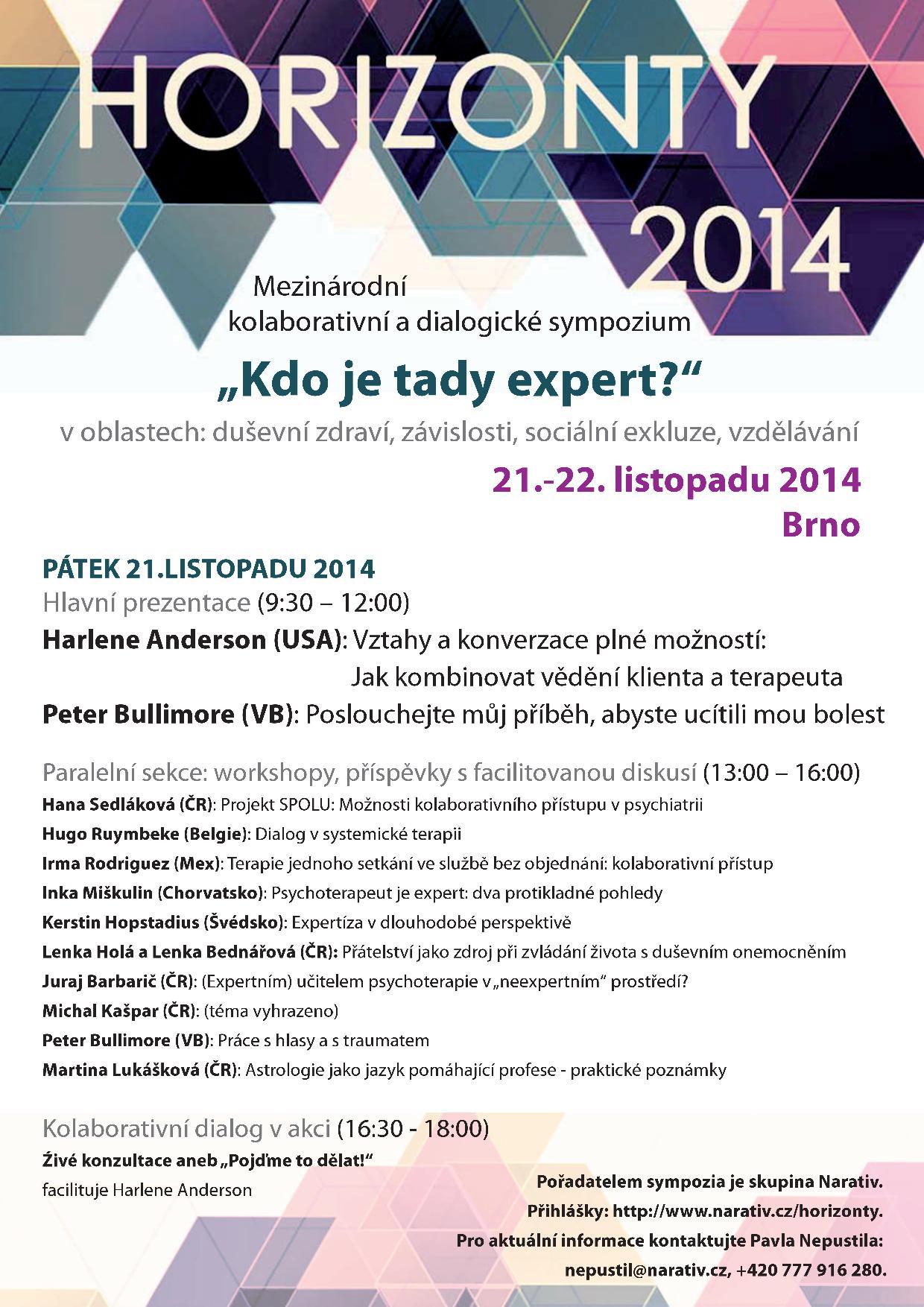 sympozium Narativ Martina Lukášková